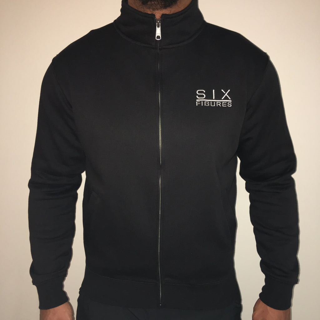 Zip Up Jacket - Black