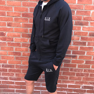 'Six Figures' Essential Hoodie - Black