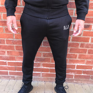 'Six Figures' Essential Joggers - Black