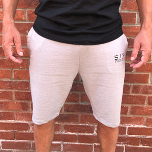'Six Figures' Essential Shorts- Grey