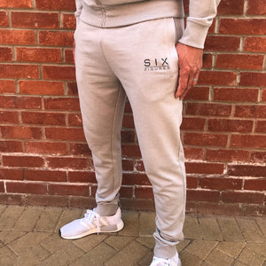 'Six Figures' Essential Joggers - Grey