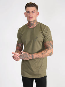 Six Figures 'SF' Logo T-Shirt - Khaki Green