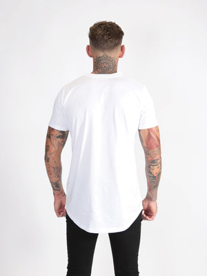 Six Figures 'SF' Logo T-Shirt - White