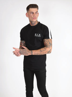'Six Figures' Essential T-Shirt - Black