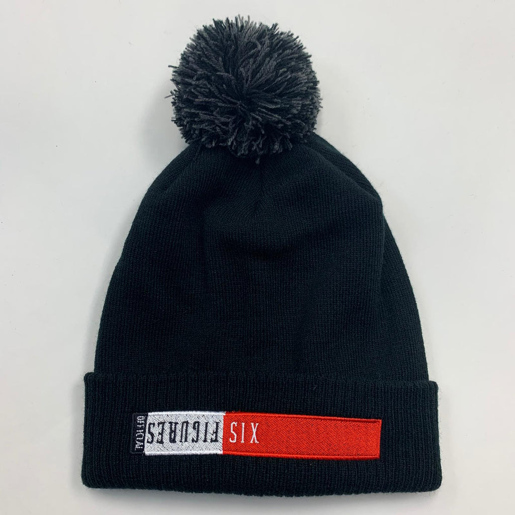 SIX FIGURES Block Beanie