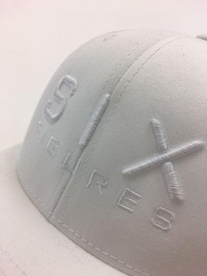 SIX FIGURES Trucker Cap - White + White - Six Figures Official
