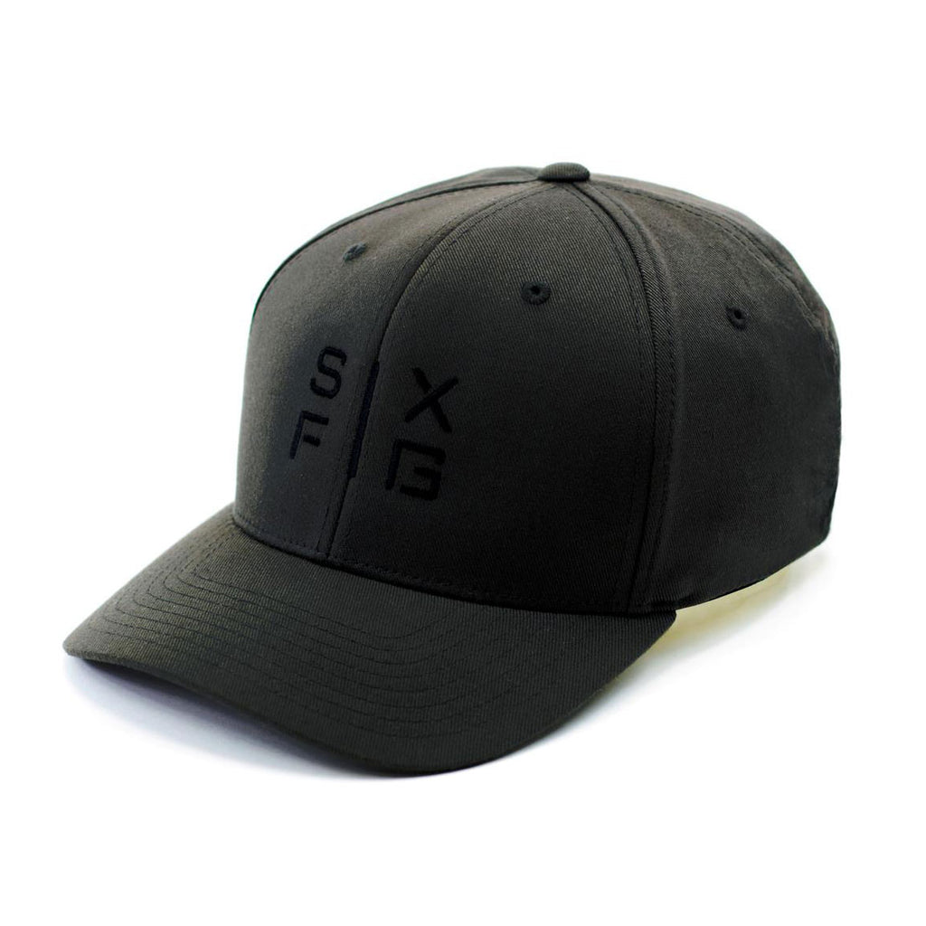 SIX FIG Baseball Cap - Black - Six Figures Official