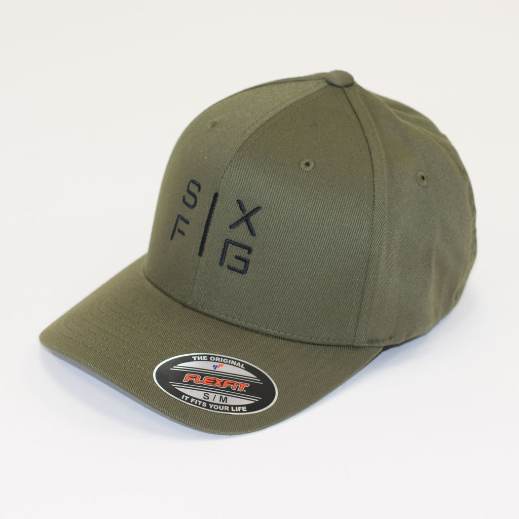 SIX FIG Baseball Cap - Olive + Black - Six Figures Official