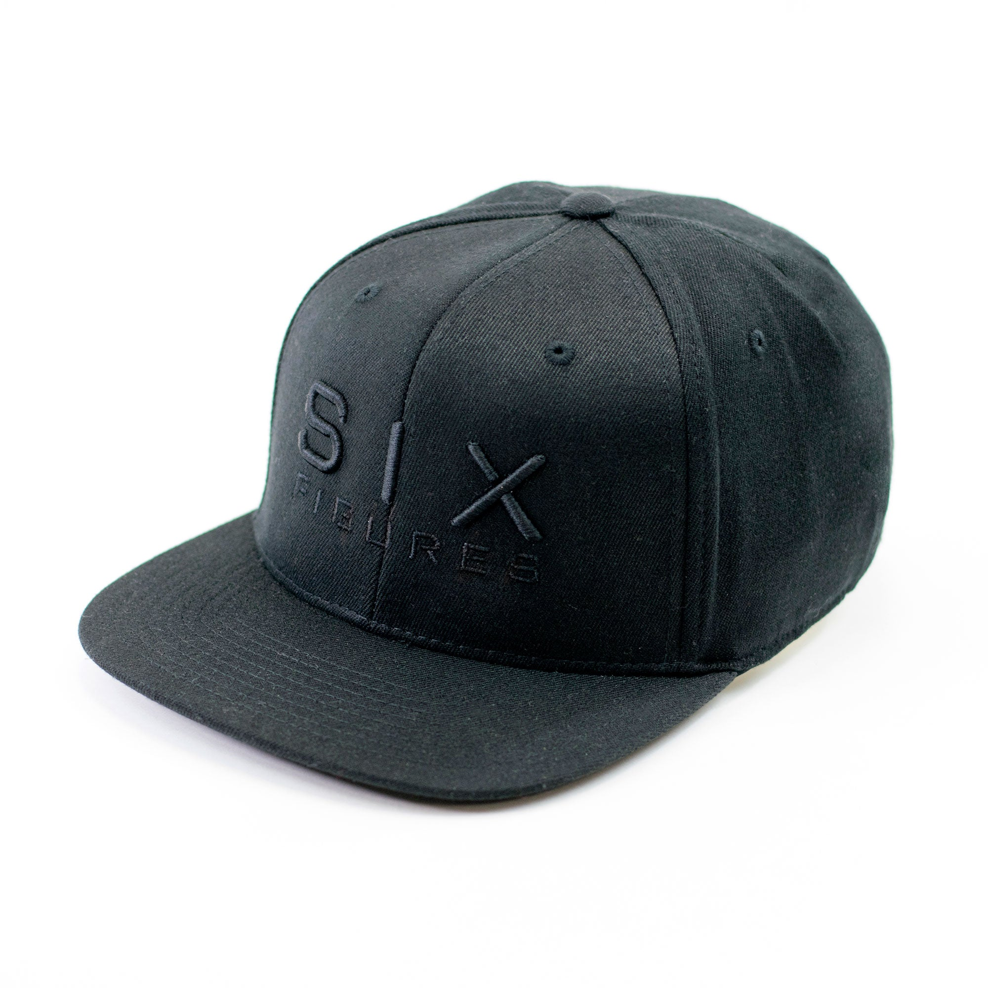 SIX FIGURES Snapback - Black - Six Figures Official