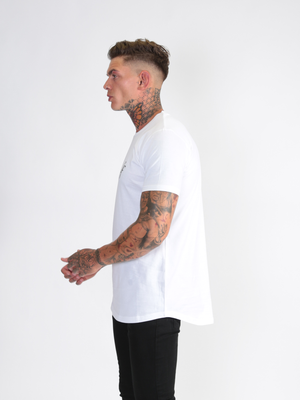 'Six Figures' T-Shirt - White