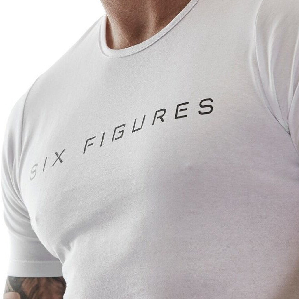 Youth 'Six Figures' T-Shirt - White - Six Figures Official