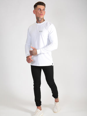 Long Sleeved T-Shirt - White