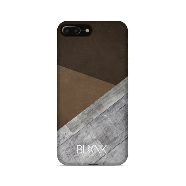 Brown Abstract Phone Case