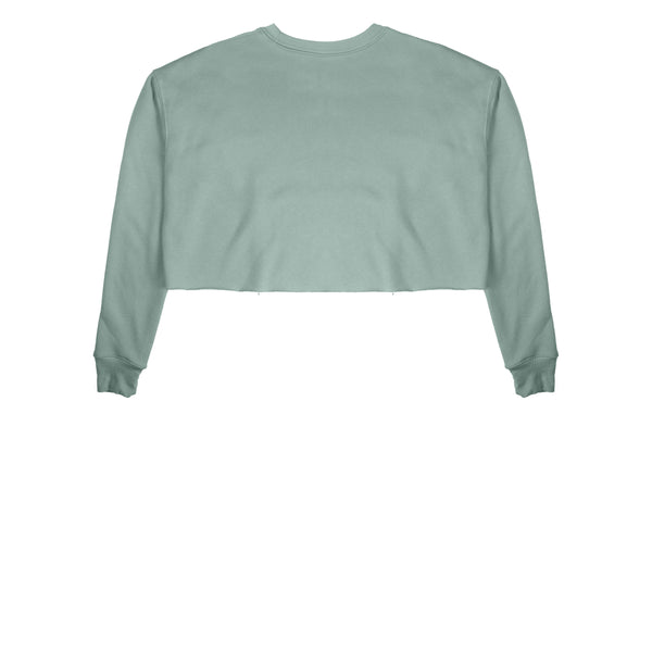 Mint Cropped Crewneck