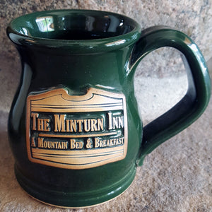 Minturn Inn Coffee Mug Grey Fox Pottery- Valbruna Vail