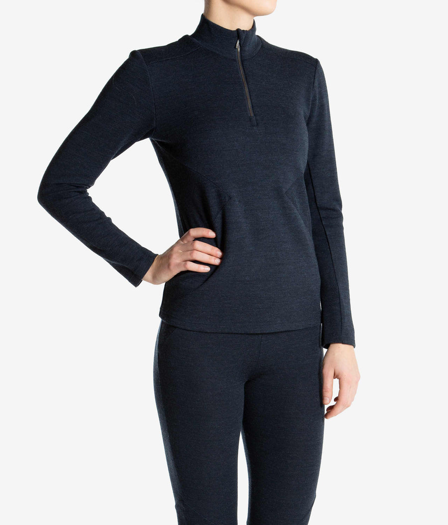 We Norwegians Stegastein 1/2 Zip Sweater FW18 We Norwegians- Valbruna Vail