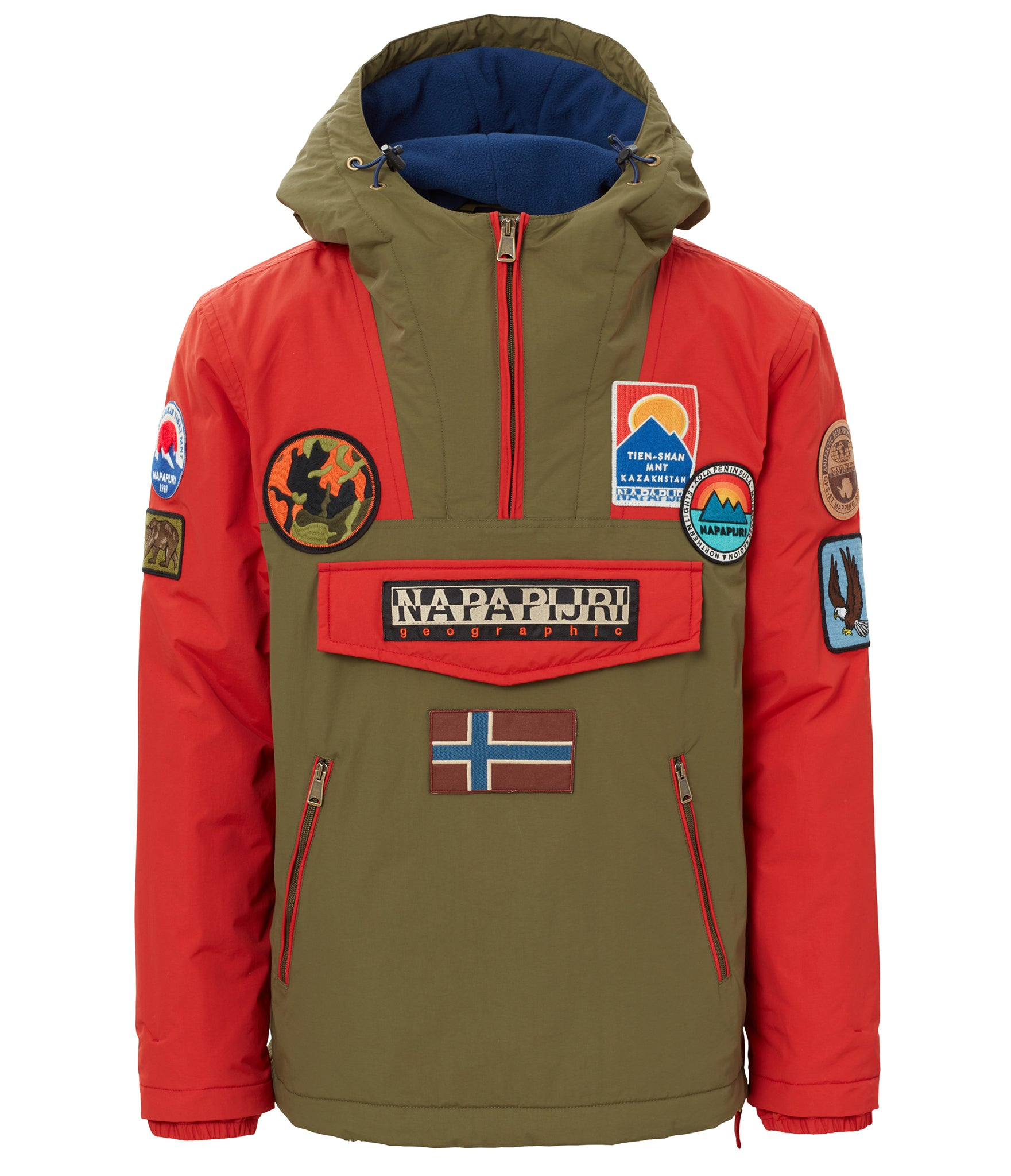 Napapijri M-Rainforest Patch Jacket FW18 - Valbruna Vail 05cbaee5c68