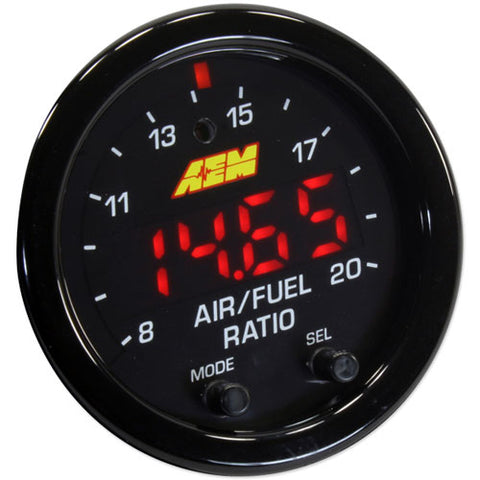 AEM Electronics X-Series Wideband UEGO Air/Fuel Sensor Controller Gauge