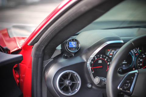 JRE Single Gauge Pod 2016-2021 Camaro