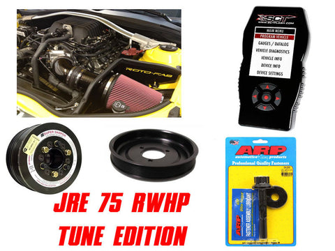 "JRE 75 RWHP ""Tune"" Package 2012-2015 Camaro ZL1"