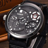 30M waterproof Men's Military Luxury Watch Sport Analog Quartz Mens Wristwatch