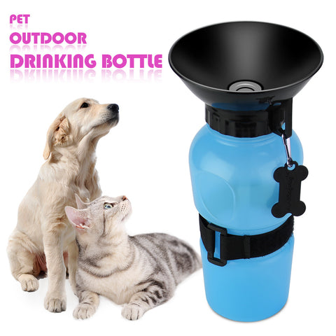 Portable Pet Travel Outdoor Sport Drinking Feed Bottle for Dog Cat Puppy