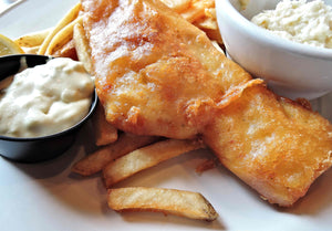 Brown Ale Battered Fish