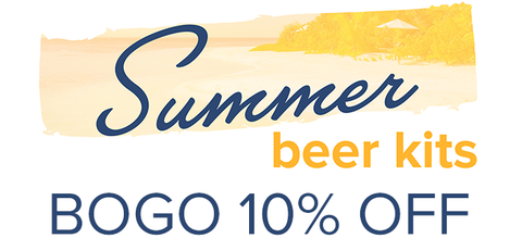 Summer Beer Kits - BOGO 10% Off