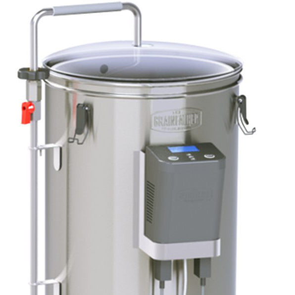 Closeup photo of the grainfather