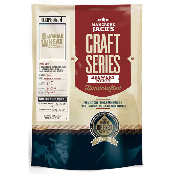 Mangrove Jack's Craft Series Beer Pouch - Bavarian Wheat