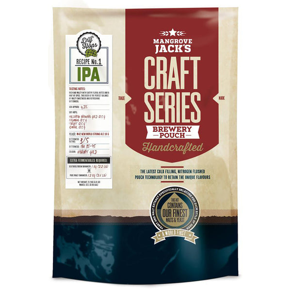 Mangrove Jack's Craft Series Beer Pouch - IPA + Dry Hops