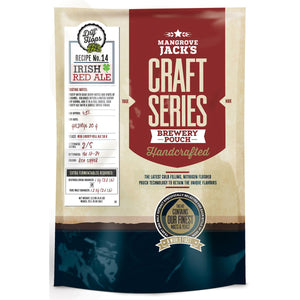 Mangrove Jack's Craft Series Beer Pouch - Irish Red Ale + Dry Hops