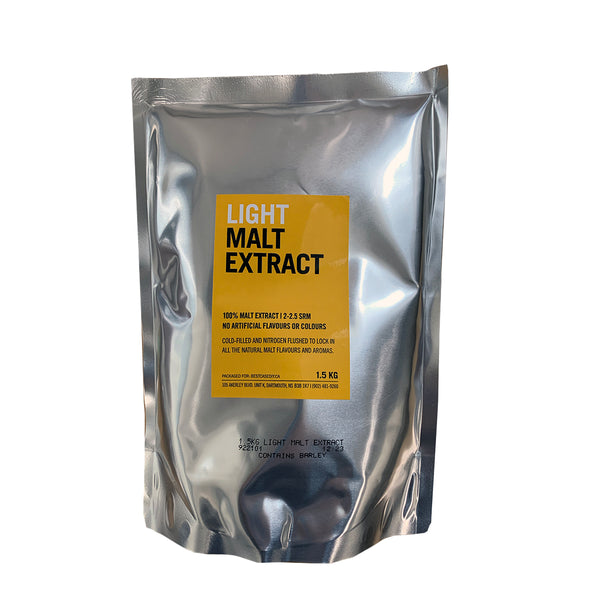 Malt Extract, Liquid - Light (1.5 kg Pouch)