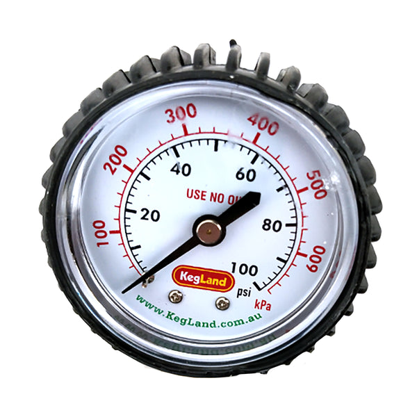 Regulator Gauge - Low Pressure (0-100 PSI)
