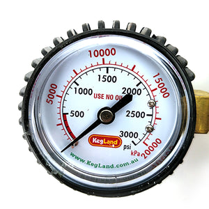 Regulator Gauge - High Pressure (0-3000 PSI)