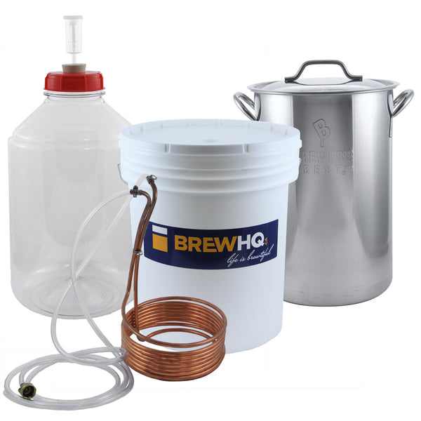 Brewing Starter Kit, Advanced - Going In Head First