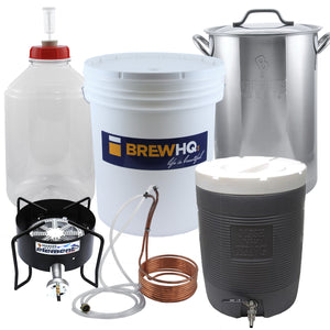Brewing Starter Kit, Advanced Plus - The Brewmaster Wannabe