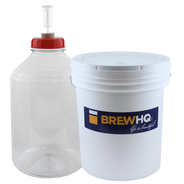 Beginner Brewing Starter Kit - with Mangrove Jack's Cider Pouch