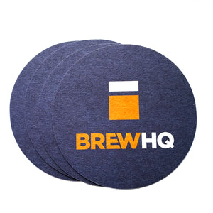 BrewHQ Coasters (4 Pack)