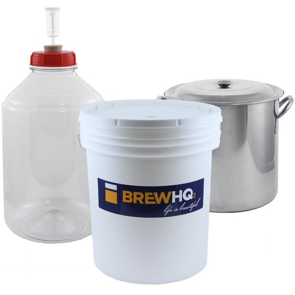 Intermediate Brewing Starter Kit - with Best Case Partial Mash Kit