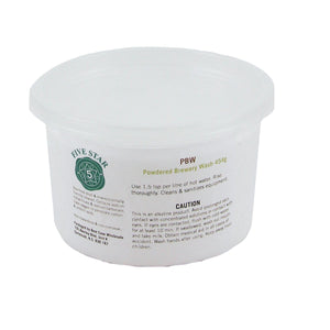 Powdered Brewery Wash (PBW) (1 lbs)