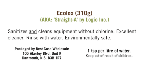Sanitizer - Ecolox