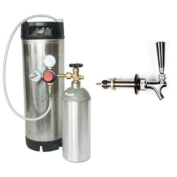 Kegging Kit, Intermediate - The Tap House (Pepsi/Ball Lock)