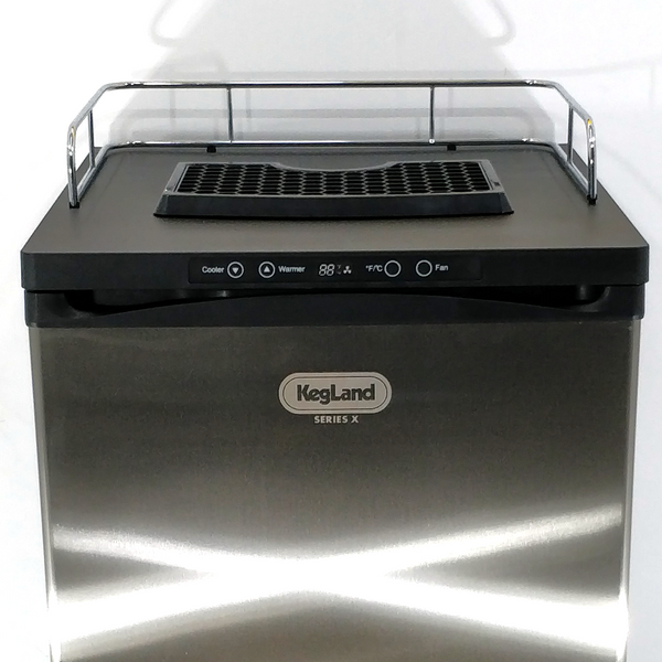 KegLand Series X - Kegerator (With Double SS Intertap Tower )