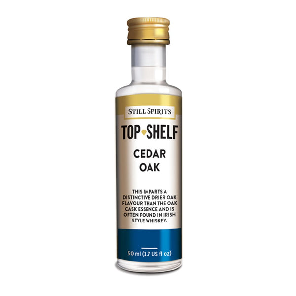 Top Shelf Whiskey Profile Replacement - Cedar Notes
