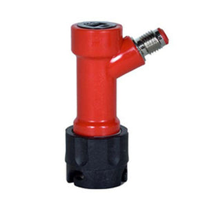 "Keg Connector - Out, Pin Lock 1/4"" OD Threaded (Coke)"