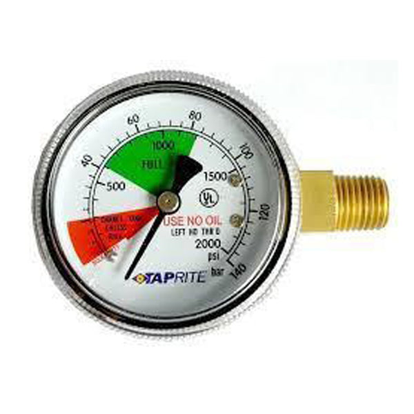Regulator - Replacement Contents Gauge (0-2000 PSI)