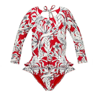 White Bird Pauli Long Sleeve Swimsuit