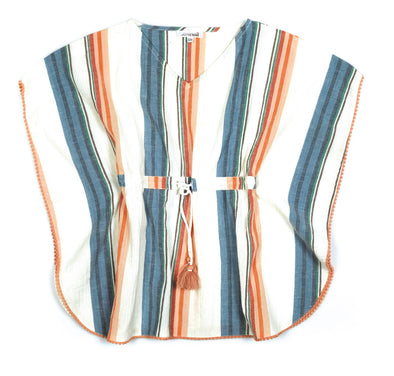 Striped Tobago Kaftan Top