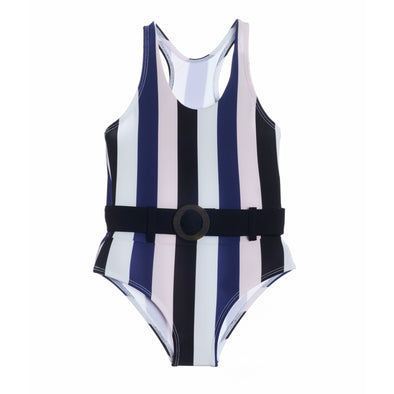 Below the Belt Striped One Piece